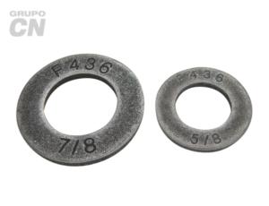 "Arandela o rondana plana estructural templada F 436 Galvanizado 1/2"" 12.7mm"