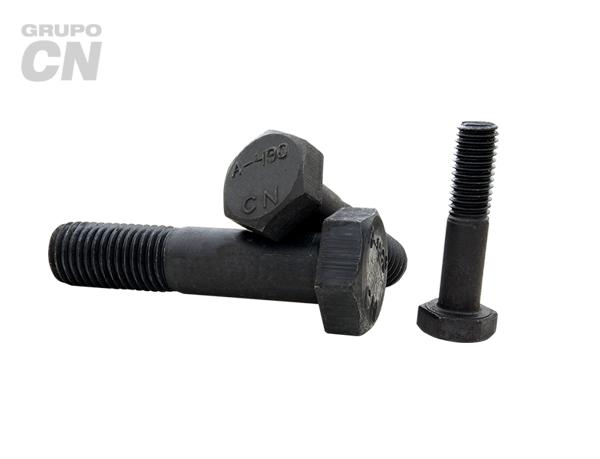 "Tornillo estructural cabeza hexagonal con vástago cuerda estándar UNC A-490 T-1 de 1"" (25.4mm) 8 hilos"
