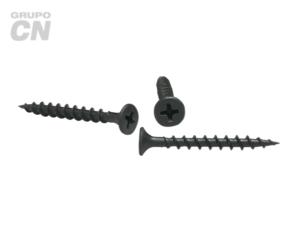 Pija cabeza plana embutida phillips cuerda abierta (para panel de yeso tipo tablaroca) #4 (2.2mm) 24 hilos