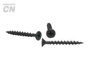 Pija cabeza plana embutida phillips cuerda fina (para panel de yeso tipo tablaroca) #8 (4.2mm) 18 hilos