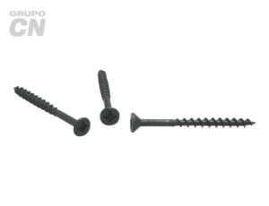 Pija cabeza plana embutida phillips cuerda abierta (para aglomerados de madera) #6 (3.5mm) 20 hilos