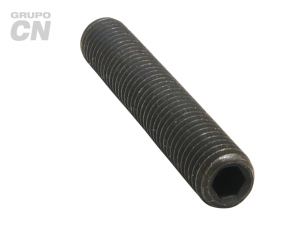 """Opresor con hexágono interior punta copa cuerda estándar UNC tipo ALLEN 5/16"""" (7.9mm) 18 hilos"""