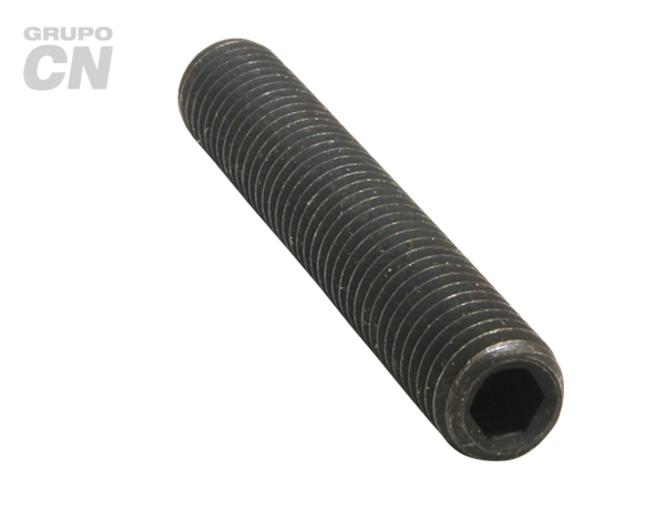 """Opresor con hexágono interior punta copa cuerda estándar UNC tipo ALLEN 3/8"""" (9.5mm) 16 hilos"""