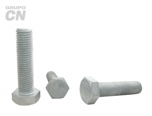 "Tornillo estructural cabeza hexagonal cuerda corrida estándar UNC A-325 T-1 de 1/2"" (12.7mm) 13 hilos"