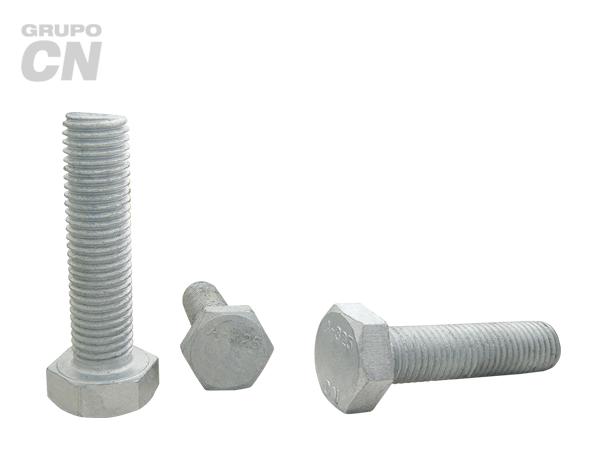 "Tornillo estructural cabeza hexagonal cuerda corrida estándar UNC A-325 T-1 de 7/8"" (22.2mm) 9 hilos"