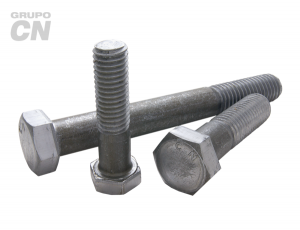 "Tornillo máquina cabeza hexagonal con vástago cuerda estándar UNC G-2 de 3/8"" (9.5mm) 16 hilos"