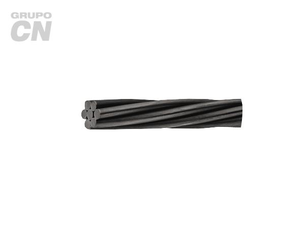 Cable de Acero torón retenida negro