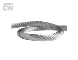Cable de acero alma de fibra