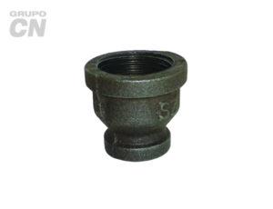 Conexiones roscadas-roscadas de hierro maleable cédula 40 Reducción campana