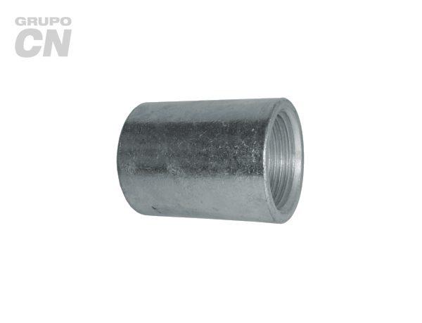 Conexiones roscadas-roscadas de hierro maleable cédula 40 Cople liso