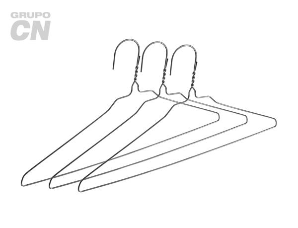 Ganchos de alambre para ropa