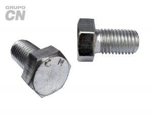 "Tornillo cabeza hexagonal cuerda corrida UNC inoxidable T 304 DIN 933 de 3/8"" (9.5mm) 16 hilos"