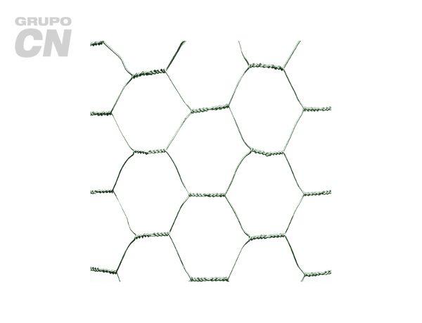 Tela (malla) hexagonal o gallinera Galvanizada 45m