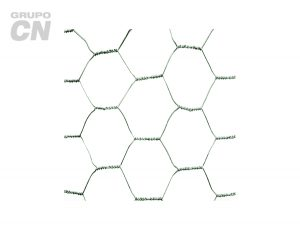 Tela (malla) hexagonal o gallinera Galvanizada 30m