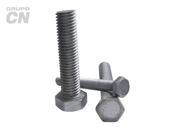 "Tornillo máquina cabeza hexagonal cuerda corrida UNC G-2 de 1"" (25.4mm) 8 hilos"
