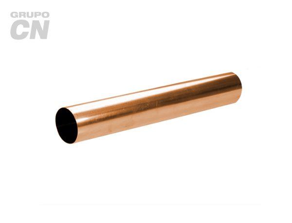 """Tubo de cobre rígido tipo """"N"""" para agua"""
