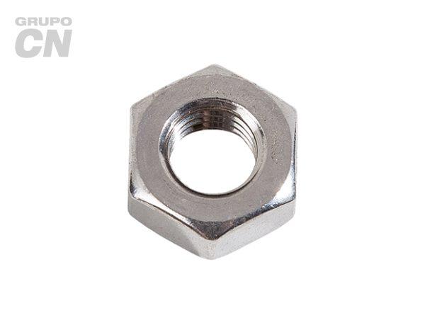 Tuerca hexagonal cuerda estándar UNC inoxidable T 316