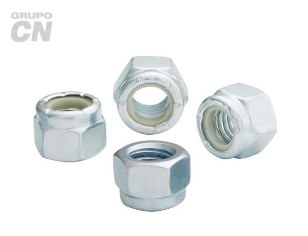 Tuerca de seguridad con inserto de nylon cuerda estándar UNC y fina UNF Fina UNF