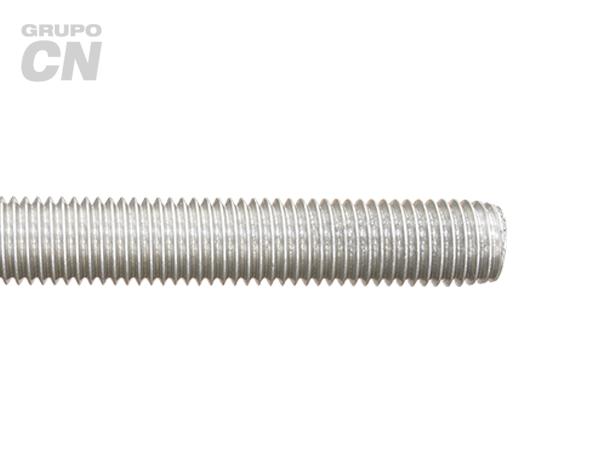 Varilla roscada cuerda estándar UNC inoxidable 18-8 T 304 1.00 metros