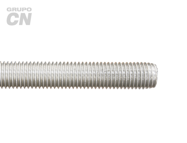 Varilla roscada cuerda estándar UNC inoxidable T 316 de 1.00 metros
