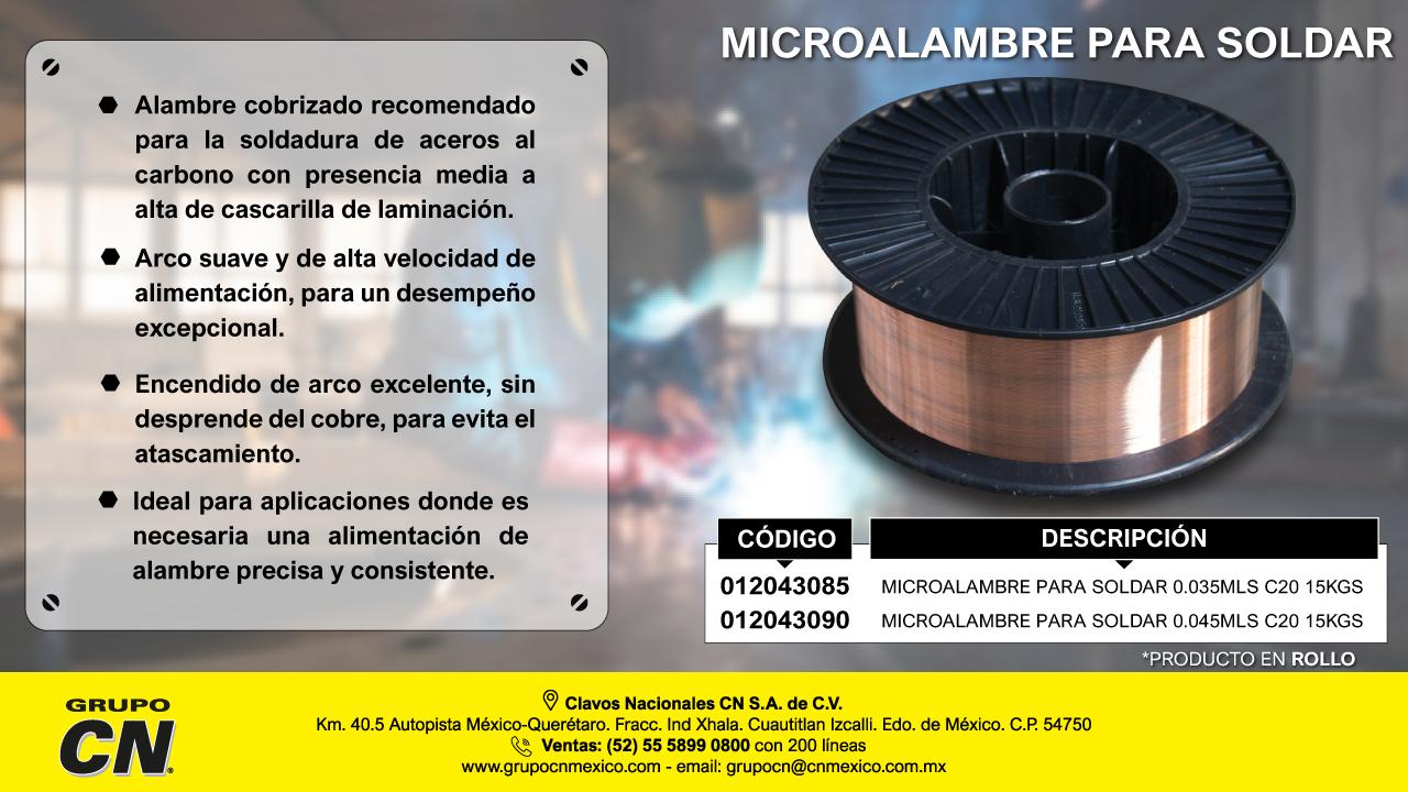 Microalambre